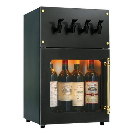 Armario Dispensador de Vino 4 Botellas