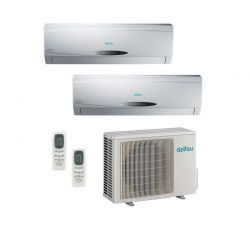 Multi Split de Pared Inverter DAITSU AIR 2X1 ASD 912 U11I-EE