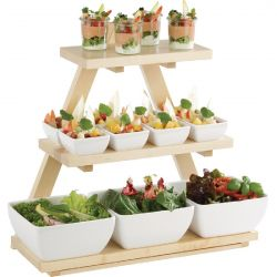 Expositor Triangular para Buffet
