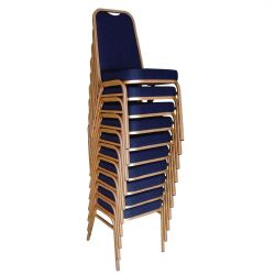Silla Banquete. Tapizado Liso (Pack 4 uds.)